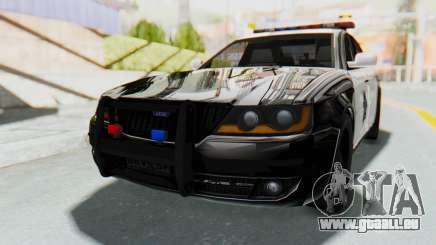 ASYM Desanne XT Pursuit v2 pour GTA San Andreas
