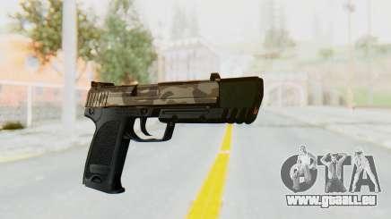 HK USP 45 Army für GTA San Andreas