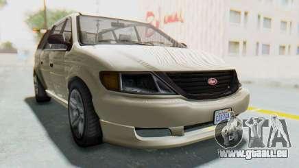 GTA 5 Vapid Minivan IVF für GTA San Andreas