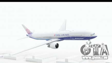 Boeing 777-300ER China Airlines Dreamliner für GTA San Andreas