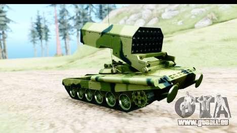 TOS-1A pour GTA San Andreas laissé vue