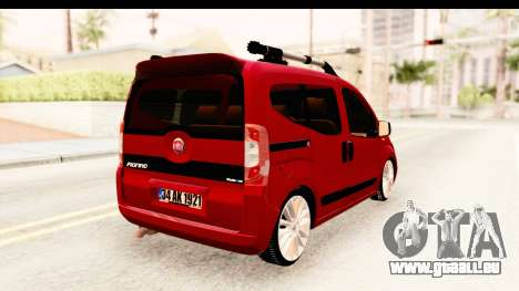 Fiat Fiorino v2 für GTA San Andreas linke Ansicht