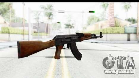 AKM 7.62 pour GTA San Andreas deuxième écran