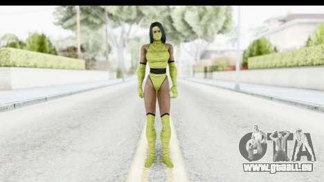 Tanya MK2 pour GTA San Andreas deuxième écran
