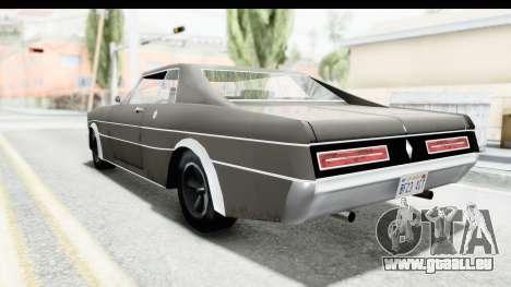 Imponte Tempest 1966 pour GTA San Andreas sur la vue arrière gauche