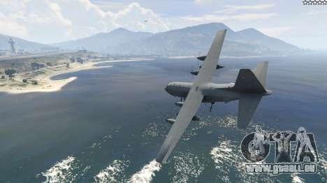 GTA 5 AC-130U Spooky II Gunship deuxième capture d'écran