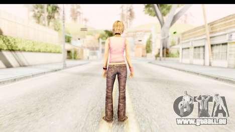Silent Hill 3 - Heather Redone Less Gloomy pour GTA San Andreas troisième écran