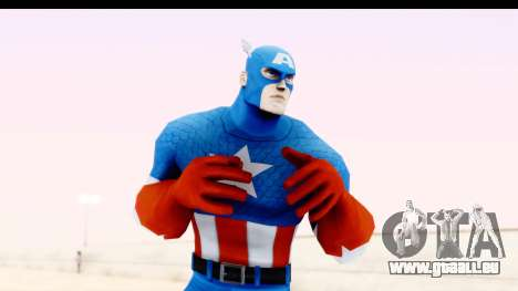 Marvel Heroes - Captain America für GTA San Andreas