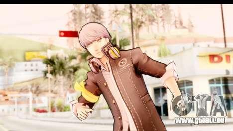 Persona 4: DAN - Yu Narukami Default Costume für GTA San Andreas