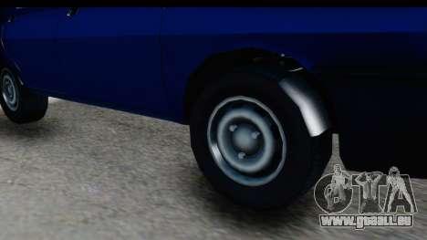 Dacia Liberta pour GTA San Andreas vue arrière