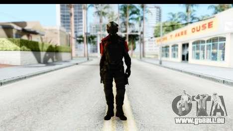 Homefront The Revolution - KPA v1 Black pour GTA San Andreas deuxième écran