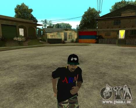 New Armenian Skin pour GTA San Andreas douzième écran