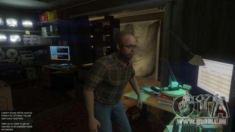 GTA 5 Story Mode Heists [.NET] 1.2.3 cinquième capture d'écran
