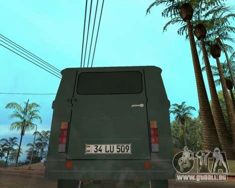 Eraz 762 Armenian für GTA San Andreas zurück linke Ansicht