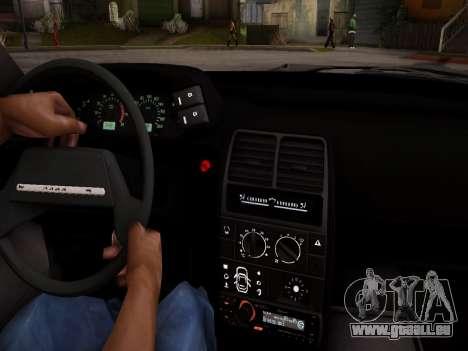 VAZ 2112 GVR qualité pour GTA San Andreas vue de côté