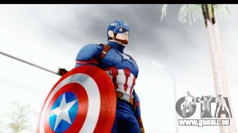 Marvel Heroes - Capitan America CW für GTA San Andreas