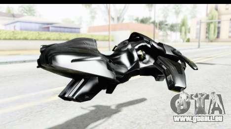 Spectre Hoverbike für GTA San Andreas linke Ansicht