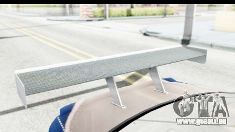 NFS Carbon - BMW M3 GTR pour GTA San Andreas vue de côté