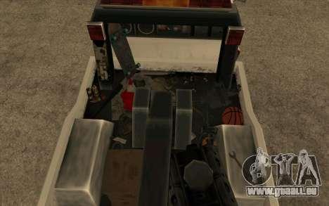 Nouvelle de remorquage pour GTA San Andreas vue de droite