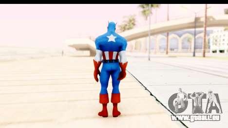 Marvel Heroes - Captain America für GTA San Andreas dritten Screenshot