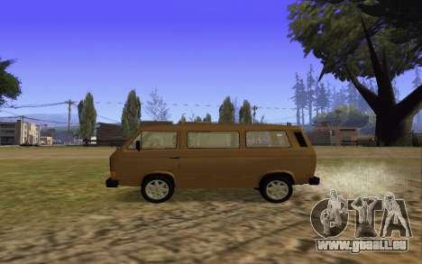 Volkswagen Transporter T-3 Armenian für GTA San Andreas Innenansicht