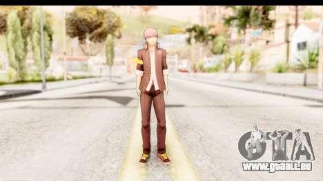 Persona 4: DAN - Yu Narukami Default Costume für GTA San Andreas zweiten Screenshot