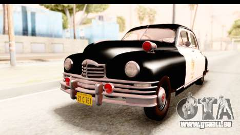 Packard Standart Eight 1948 Touring Sedan LAPD pour GTA San Andreas