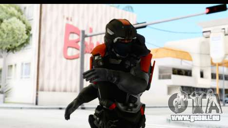 Homefront The Revolution - KPA v3 Captain pour GTA San Andreas