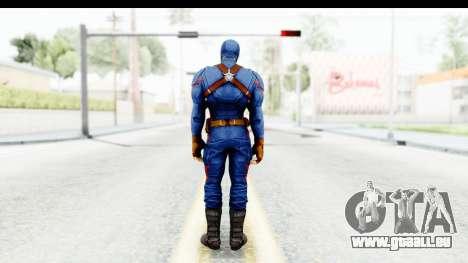 Marvel Heroes - Capitan America CW pour GTA San Andreas troisième écran