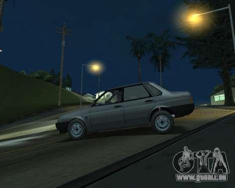 Vaz 21099 ARMNEIAN für GTA San Andreas linke Ansicht
