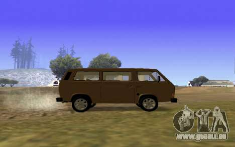 Volkswagen Transporter T-3 Armenian für GTA San Andreas obere Ansicht