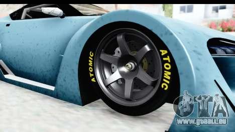 GTA 5 Emperor ETR1 v2 IVF pour GTA San Andreas vue arrière
