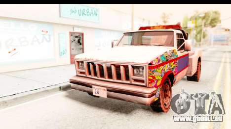 Towtruck Sticker Bomb pour GTA San Andreas