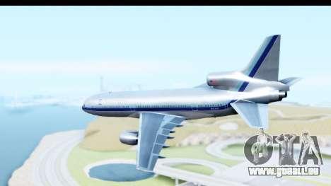 Lockheed L-1011-100 TriStar Eastern Airlines pour GTA San Andreas laissé vue