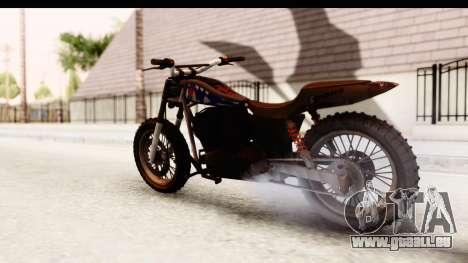GTA 5 Western Cliffhanger Custom v2 IVF pour GTA San Andreas laissé vue