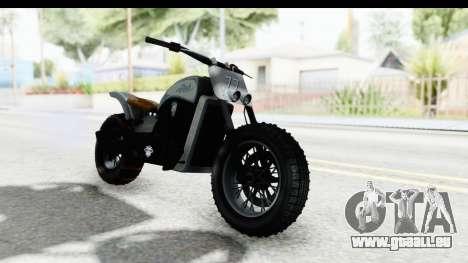 GTA 5 Western Gargoyle Custom v2 IVF für GTA San Andreas rechten Ansicht