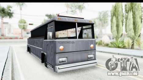 Towbus für GTA San Andreas rechten Ansicht
