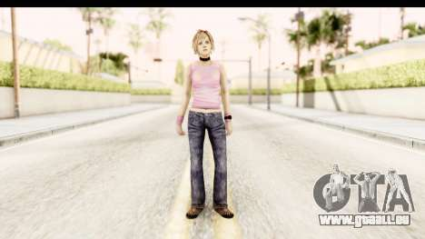 Silent Hill 3 - Heather Redone Less Gloomy pour GTA San Andreas deuxième écran