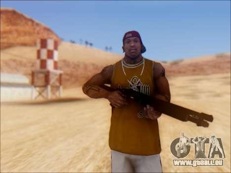 GTA V Shrewsbury Pump Shotgun für GTA San Andreas zweiten Screenshot