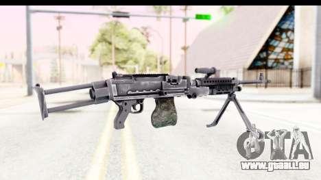 M240 FSK No Scope Bipod für GTA San Andreas zweiten Screenshot