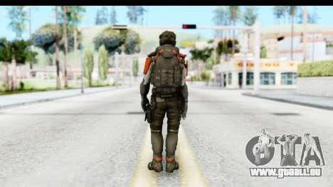 Homefront The Revolution - KPA v3 Captain pour GTA San Andreas troisième écran