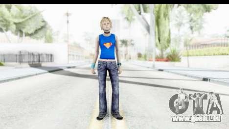 Silent Hill 3 - Heather Sporty Super Girl pour GTA San Andreas deuxième écran