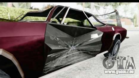 Tampa Daytona Kill pour GTA San Andreas vue arrière