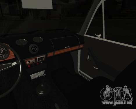 VAZ 2106 Armenischen für GTA San Andreas Unteransicht