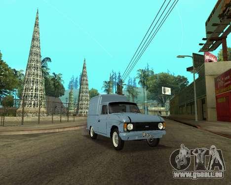 Moskvich 2715 Arménien pour GTA San Andreas vue de côté