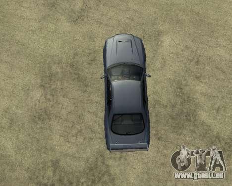 Nissan Skyline Armenia pour GTA San Andreas vue intérieure