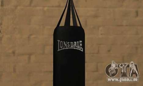 LonsDale Boxsack für GTA San Andreas zweiten Screenshot