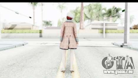 DoA 5 - Mila Casual für GTA San Andreas dritten Screenshot
