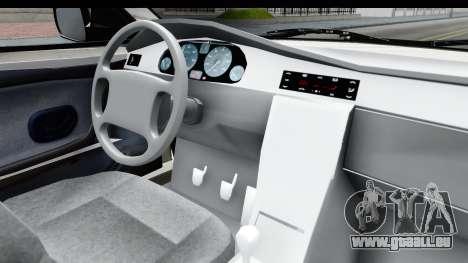 Ikco Samand Pickup v1 für GTA San Andreas Innenansicht