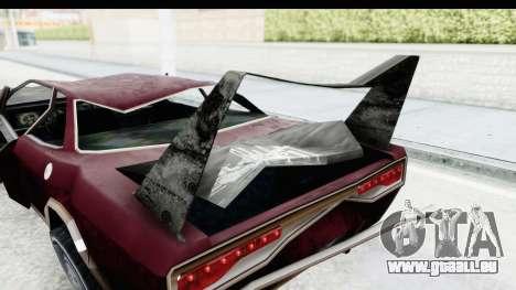 Tampa Daytona Kill pour GTA San Andreas vue intérieure